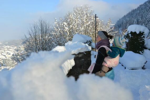 Tragen im Winter - Trageberatung Vorarlberg